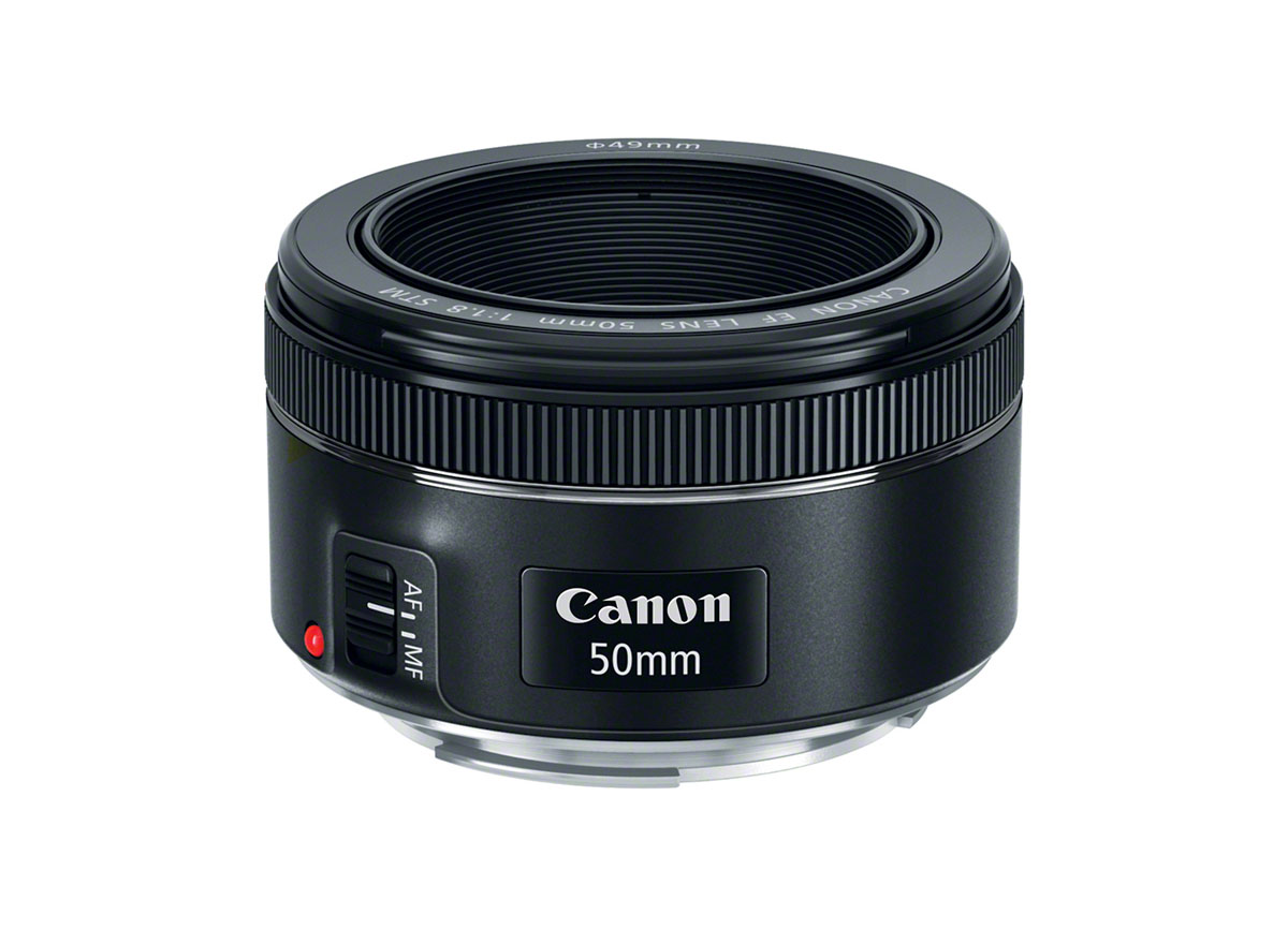 Canon introduces new EF 50mm f1.8 STM Lens