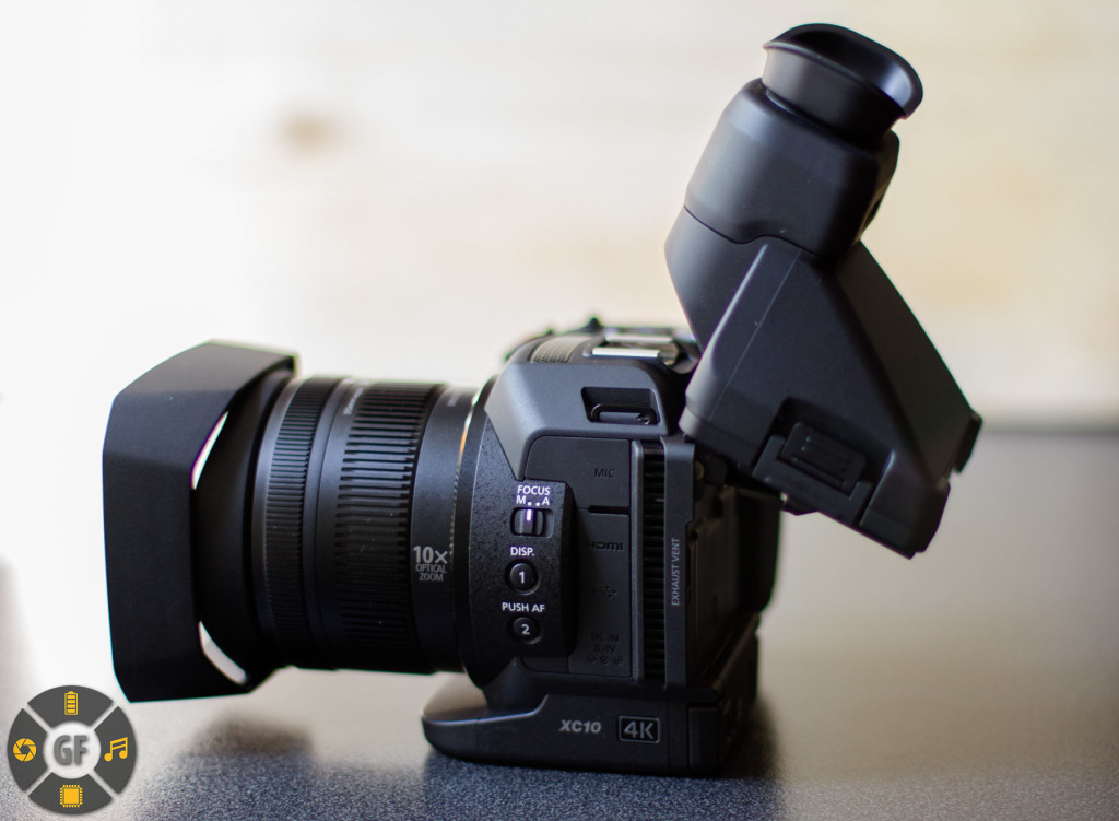 Attached Display Loupe