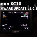 Canon XC10 Firmware Update v1.0.1.0 available