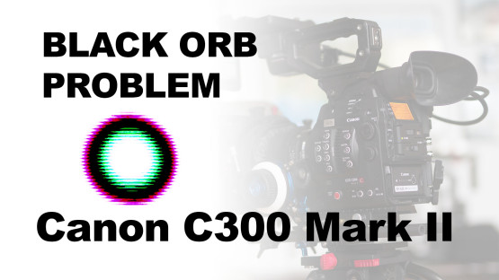 Canon C300 Mark II Black Orb Problem
