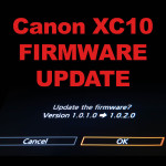Canon XC10 Firmware Update v1.0.2.0