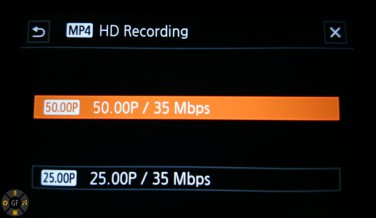 MP4 codec recording