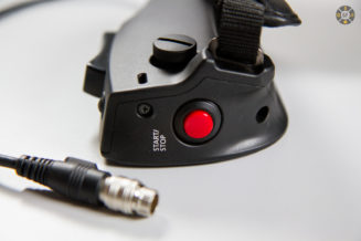 optional handgrip with zoom-rocker, One-Shot-AF and Record Button